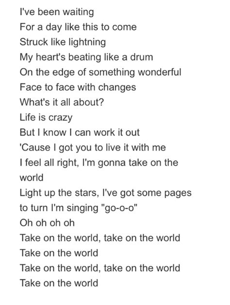 theme song lyrics take on the world lyrics girl meets world theme song