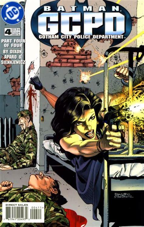 Kaos Gcpd Gotham City Heroes batman gcpd vol 1 4 dc comics database