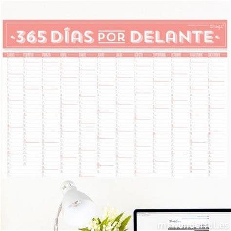 Calendario 365 Dias 2016 Mr Wonderful Calendario De Pared 365 D 237 As Por Delante