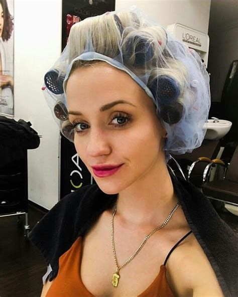 italian domme in hair curlers 1000 images about hair curlers and hair rollers and perm