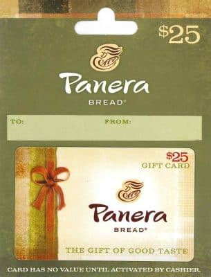Check Panera Bread Gift Card - top employee appreciation gift ideas