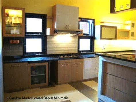 Lemari Dapur Terbaru 5 gambar model lemari dapur minimalis
