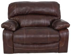 Wide Leather Recliner Damacio Leather Zero Wall Wide Recliner