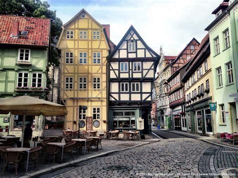 quaint german town travel places pinterest quedlinburg an 252 bercute medieval village in germany s