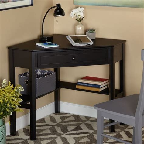 black computer corner desk 25 best ideas about small corner desk on