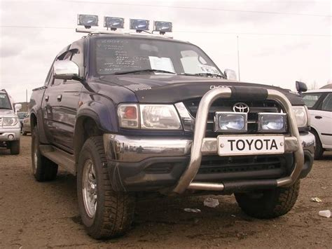 2001 Toyota Hilux For Sale 2001 Toyota Hilux Up Pictures For Sale
