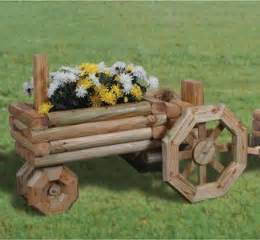 Landscape Timbers Tsc Wooden Tractor Planter Plans Woodworking Projects Plans