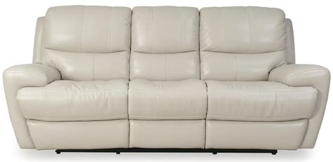 Futura Leather Reclining Sofa Futura Leather E1431 Contemporary Electric Motion Reclining Sofa With Wide Rolled Arms Darvin