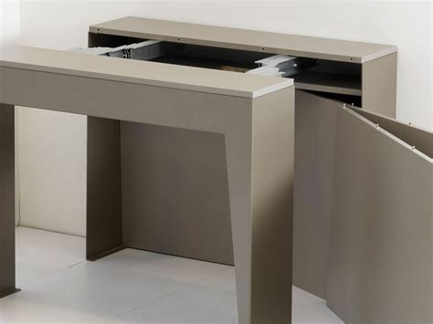 tavoli a console tavolo consolle allungabile in metallo marvel