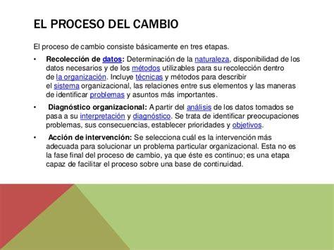 procesos de cambio organizacional gestiopolis preparaci 243 n de las personas para los cambios organizacionales