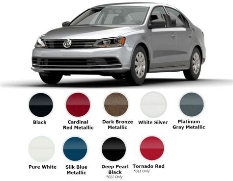 Gray Paint Color by 2017 Volkswagen Jetta Trims And Color Options