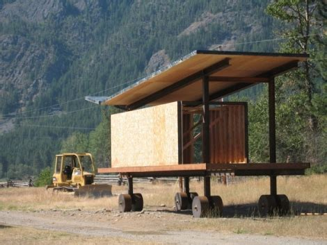 Rolling Cabins by The Craft Of A Tom Kundig Designed Modern Dwelling