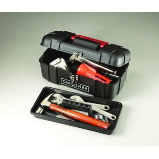 Tool Box Plastik Prohex 14 craftsman 14 quot plastic tool box with removable tray