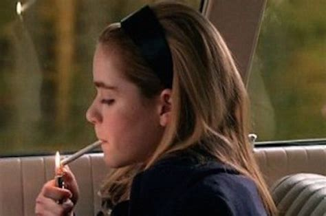 very young little girls smoking male authors teen girl characters and keo novak spark