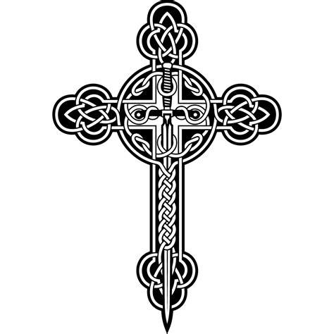 black and white celtic cross www pixshark com images