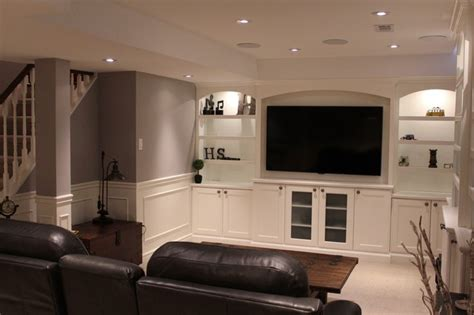basement renovation traditional basement toronto