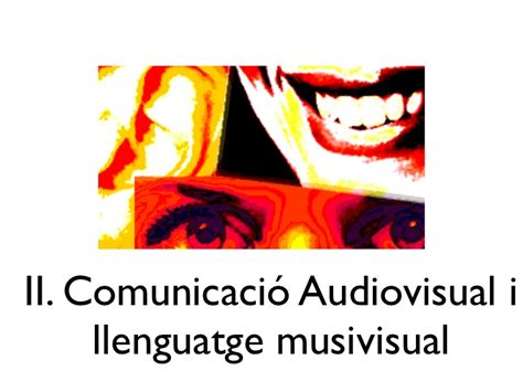nou catal nivel c 8498047897 presentaci 243 lvnv catal 224 2 quot el llenguatge musivisual a rom 225 n quot