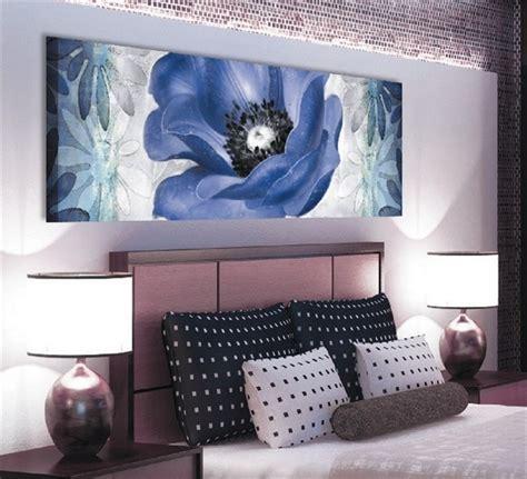 quadri x da letto quadro floreale 150x50 per da letto sta su tela