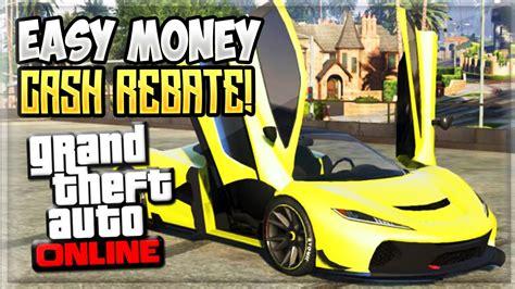 Make Fast Money Gta 5 Online - gta 5 make fast money free cash back is here gta 5 online youtube