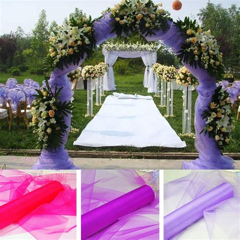 Cheap Fabric For Wedding Draping Wholesale Wedding Supplies Decoration 1 5m Width 18