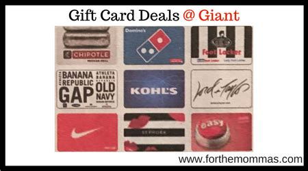 Giants Gift Cards - giant gift card deals thru 8 24 5x points ftm