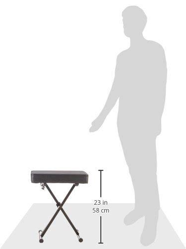 yamaha pkbb1 keyboard bench yamaha pkbb1 adjustable padded keyboard bench shop ecommerce1stop