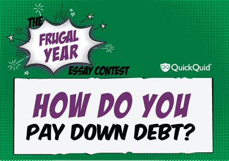 Essay Contest March by Quid Corner The Frugal Year Essay Contest How Do You
