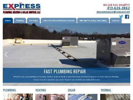 Express Plumbing Services by Express Plumbing Service Hatfield Northton Greenfield Amherest Ma
