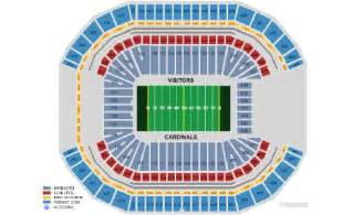 arizona cardinals stadium map asu sun stadium seating chart 2017 2018 car