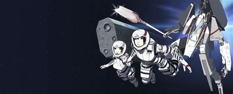 knights of sidonia netflix s anime series knights of sidonia