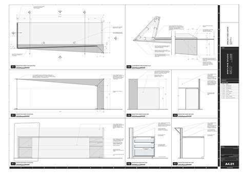 sections and layout of front office gallery of epsilon eastlake studio 13