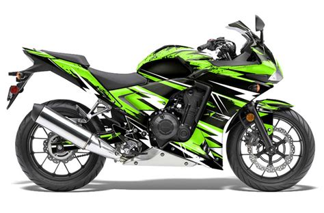 cbr bike green honda cbr 500r bike graphics attack green sport