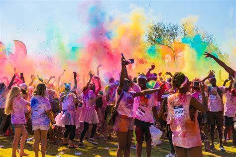 dallas color run get your of the color run potchefstroom