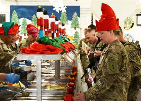 what to by staff for christmas dinner at bagram airfield article the united states army