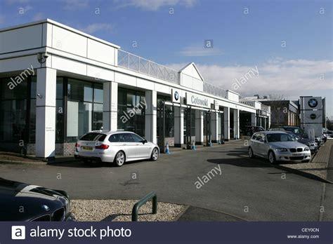 Car Garages Cheltenham by Cotswold Bmw Dealership Cheltenham Uk Stock Photo