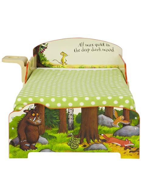 Gruffalo Bed Set The Gruffalo Toddler Bed With Storage And Shelf