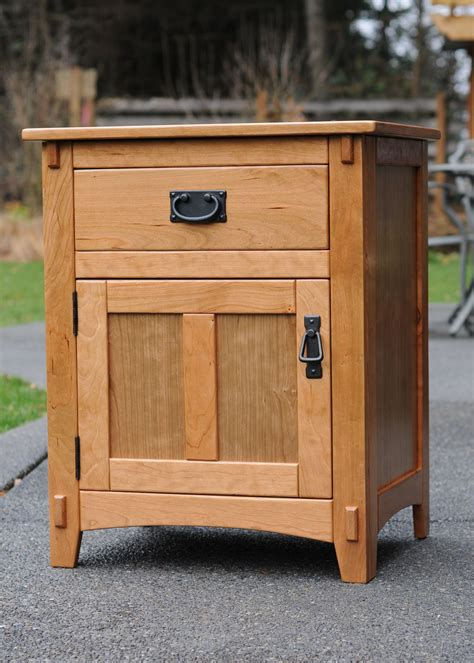 cherry night stand kreg owners community woodworking