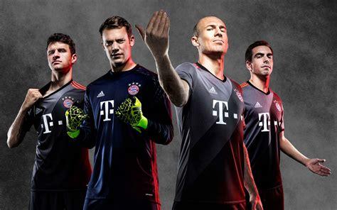 Bayern Muenchen Away bayern m 252 nchen 16 17 away kit released footy headlines