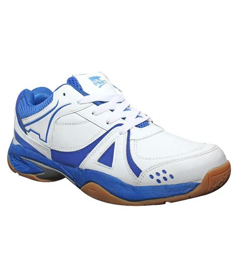 sports shoes for badminton port activa badminton sports shoes blue and white price