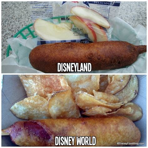 dogs at disney world review fare food truck brings dipped corn dogs to downtown disney the