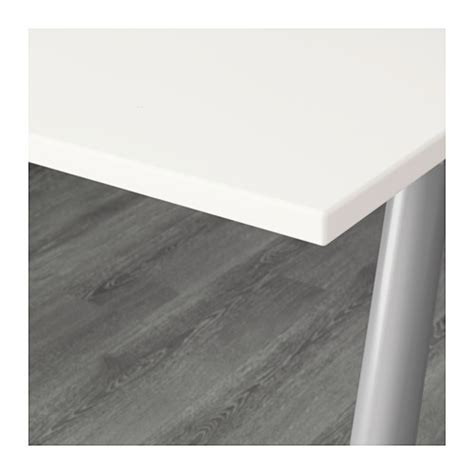Meja Kerja Ikea ikea thyge meja komputer meja kantor putih warna perak