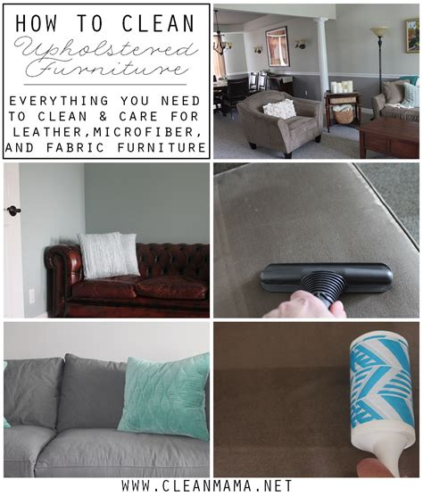 Clean Upholstered Chair How To Clean Upholstered Furniture Via Clean