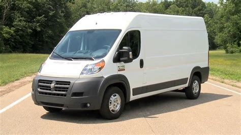 dodge work van 2014 dodge ram pro master commercial van automototv