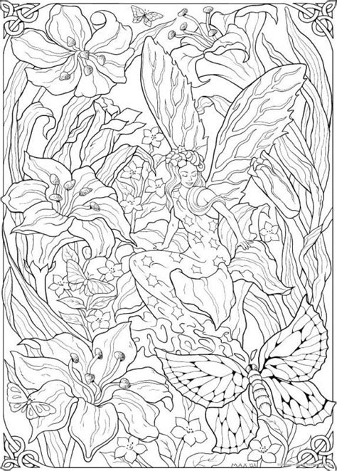 kleuren voor volwassenen mandalas fairy coloring