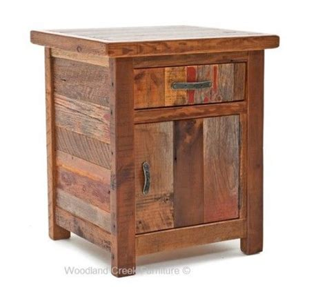 colorful nightstands colorful rustic nightstand or end table carpentry