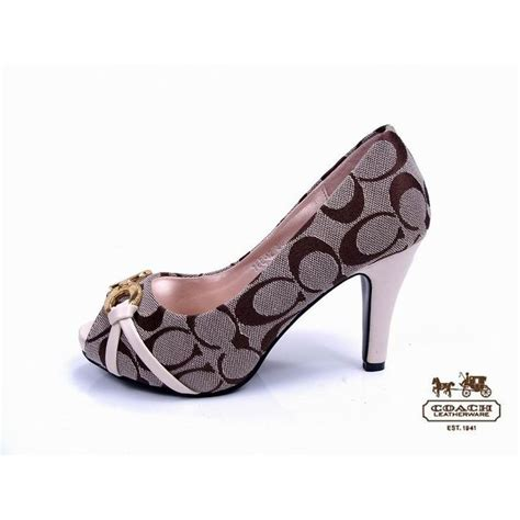 high heels coach coach shoes i shoes