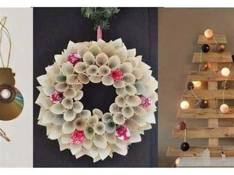 christmas decoration using recycled materials decoration with recycled material