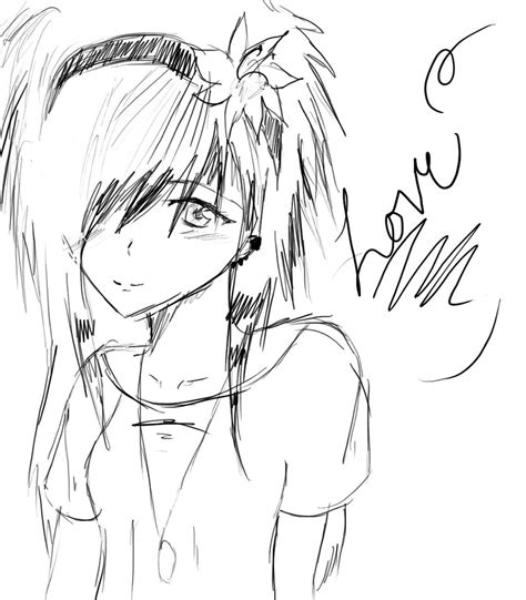 Sketches To Color by Anime Drawings Comics Episode