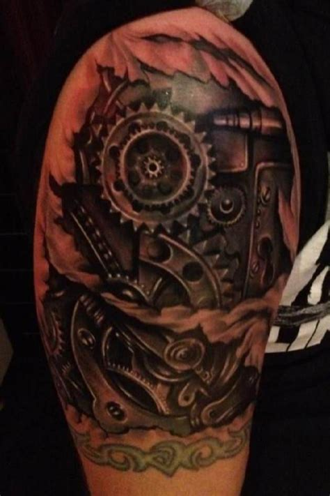 gear tattoo designs 1000 ideas about gear on biomechanical