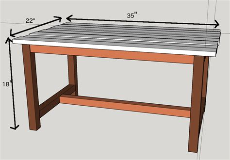 Diy Coffee Table Plans   writehookstudio.com